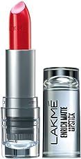 Lakme Enrich Matte Lipstick, Shade RM18, 4.7g