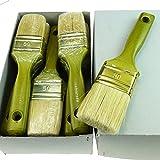ROTIX-9172 6 x Flachpinsel Lackier-Pinsel 9. Stärke Profi-Qualität 6er-Pack (50 mm)