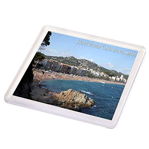 Lloret De Mar Costa Brava Spanien Beach View - Souvenir Untersetzer