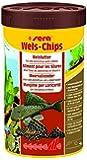 sera 00511 Wels-Chips 250 ml - Die Chips für raspelnde Welse (z.B. Ancistrus und L-Welse)