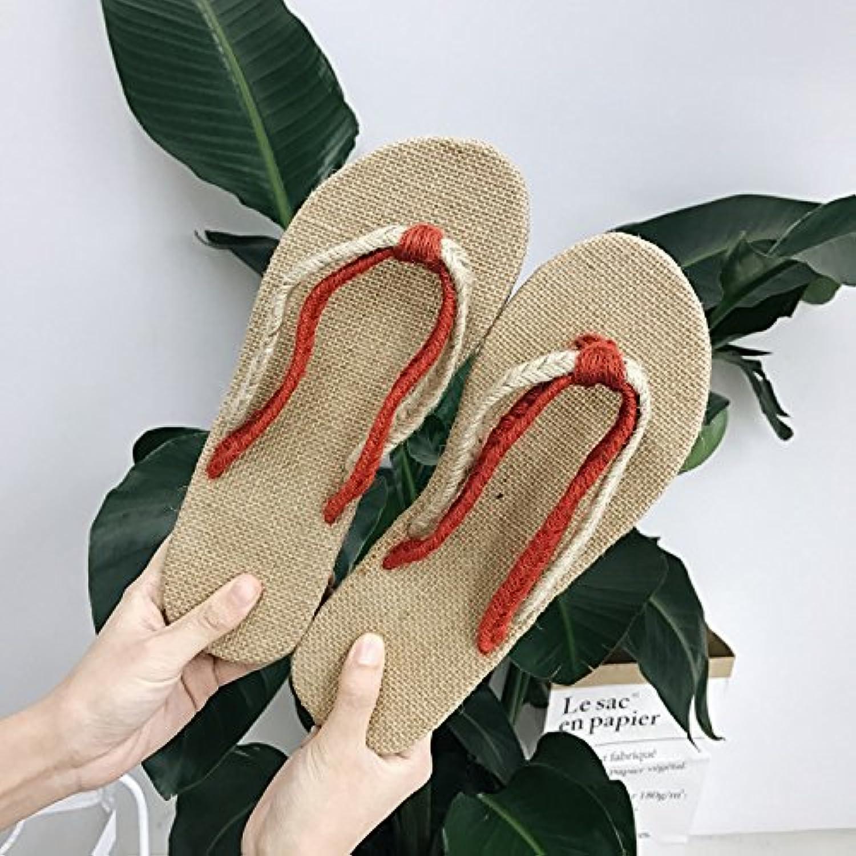 fankou Estate coppie set pantofole biancheria-toe pantofole casual cool pantofole set uomini e,40,B rosso Parent cb0017