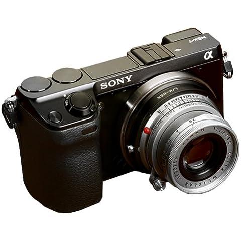 Neewer adaptador de montura de lente para Leica M lente para Sony Alpha NEX E-Mount Cámara