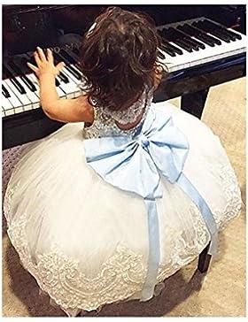 Lentejuela Princesa Vestido de Lentejuela Princesas de Juleya con el Bowknot para el cumpleaños del partido de...