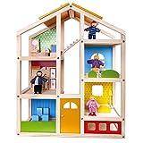 Tooky Toy Casa Delle Bambole In Legno