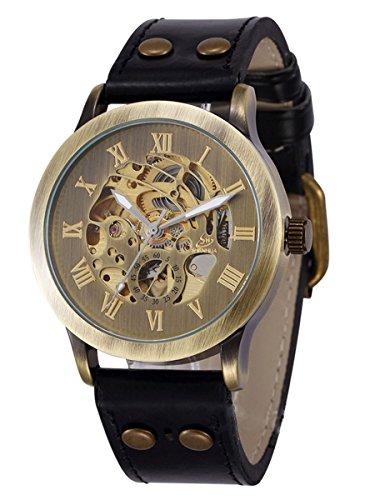 alienwork-retro-montre-automatique-squelette-mecanique-vintage-polyurethane-bronze-brun-noir-w9269-0