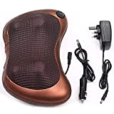 PHENOMENALTM 2 in 1 Car Home Infrared Body Massage Pillow Neck Cervical Traction Massager Cushion Seat Anti Stress Pain Relef Relax Massage