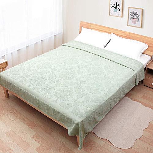 Telihome Atmungsaktive Baumwolle thermische werfen Handtuch Decke für Bett Sofa Plaid wohnkultur weiche atmungsaktiv bequem -