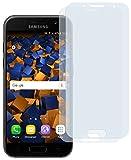 mumbi Schutzfolie kompatibel mit Samsung Galaxy A3 2017 Folie klar, Displayschutzfolie (2x)