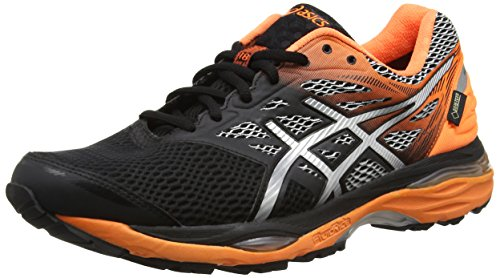 asics-mens-gel-cumulus-18-g-tx-running-shoes-multicolor-black-silver-hot-orange-8-uk