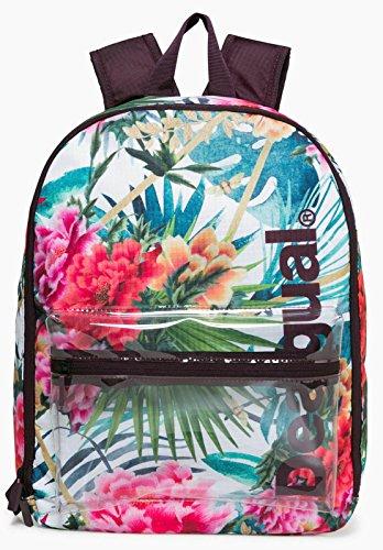 Desigual Sport Fitness Yoga Rucksack Daypack Backpack Canvas Oriental Tropic 18SQXW26/1000