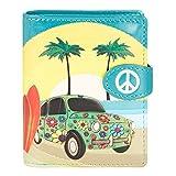 Shagwear portafoglio per giovani donne Small Purse : Diversi colori e design: (Nuova navigazione / New Surfing)