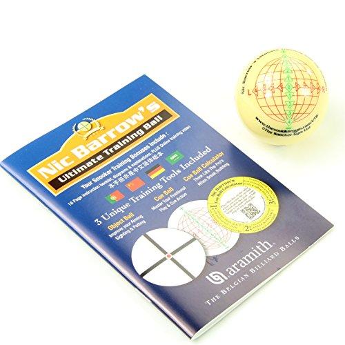 Aramith NIC Barrows Ultimate Snooker Training Ball