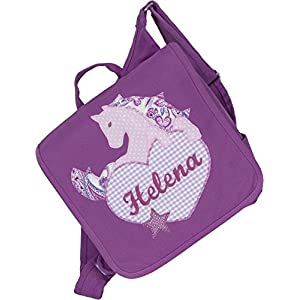 crepes suzette Kindergartentasche, Kindergartenrucksack, Tasche mit Namen, Kindergartentasche mit Namen, Namenstasche…