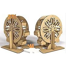 Kit para hacer noria de madera DM para candy bar mesa dulce. Manualidades con madera