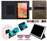 Hülle für Medion Lifetab S10346 (MD 98992) Tasche Cover Case Bumper | in Braun Wildleder | Testsieger