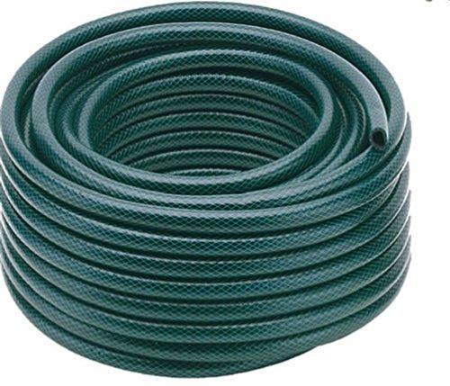 15m-30m-50m kein geknickt verstärkt Garten Schlauch Spule Rohr Wasser Wasserschlauch Grün, einfarbig, Size 50 METER