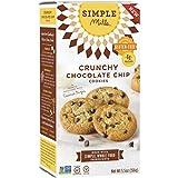 Molinos simples - Crujientes galletas chispas de Chocolate, naturalmente sin gluten - 5.5 oz.