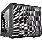 Thermaltake - Core V21 - Micro-Tour Boitier PC avec fenêtre (Micro-ATX / Mini-ITX) Noir