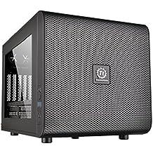 Thermaltake Core V21 - Micro chasis M-ATX, color negro