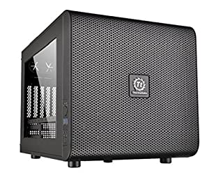 Thermaltake Core V21 Matx Mesh Stackable cube Case with 200mm Fan, rotatable , 13.2 x 12.6 x 16.7 inch, Black (B00PN4WWH2) | Amazon Products