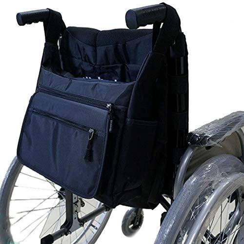 Rollstuhlrucksack - Reißverschlusstaschen Zubehör Keep Essentials Handy, Fit Most Folding Walker, Rollstuhl für Alten - Kleidungsstück System