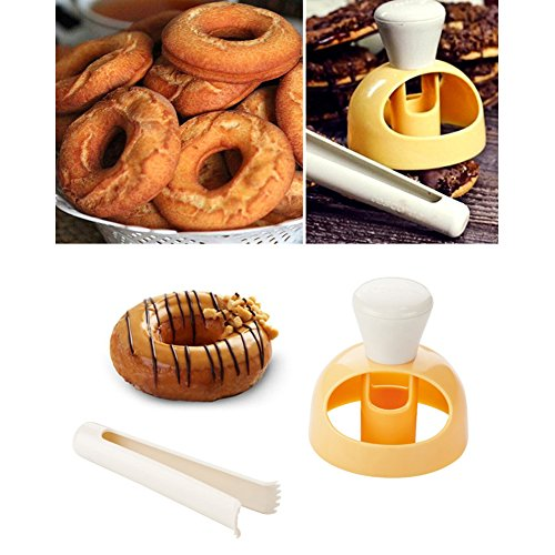 daynecety 2 DUNOT Cutter Form Maker Pfanne Backen Donut Kuchen Form Werkzeug Cutter DIY