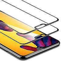 ESR Pellicola Huawei P20 Lite [Copertura Completa][2 Packs], Pellicola Vetro Temperato [Anti-Graffo/Olio/Impronta] con 9H Durezza Protezione Elevata per Huawei P20 Lite (Uscito a 2018).