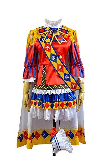 Fuman Love Live! Nico Yazawa Magician Uniform Cosplay Kostüm Für Erwachsene Damen Mehrfarbig Maßanfertigung (Nico Yazawa Kostüm)