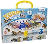Miniland - Activity Euro, juguete de 18 actividades para el aprendizaje de las monedas y billetes (45308)