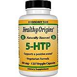 Healthy Origins, Natural 5-HTP, 100 mg, 120 Capsules