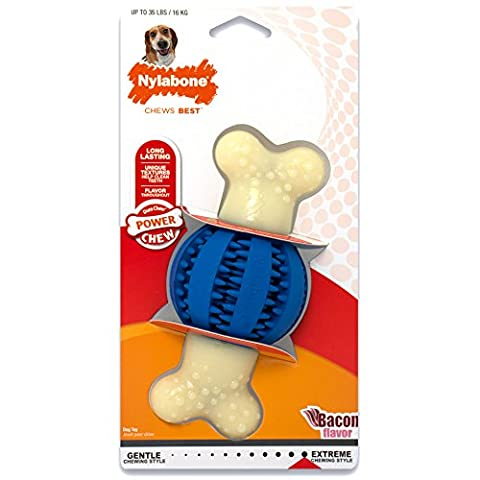 Nylabone Double Action Chew Round Ball - Medium