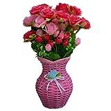 Sky Trends Flower Pots For Home | Office (6.5 Inch X 4.5 Inch, Metal) | Flower Vase For Living Room, Bedroom, Drawing Room