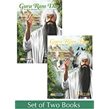 Guru Ram Das - Fourth Guru - Volume 1 and Volume 2 - Set of 2 Books (Sikh Comics for Children & Adults)