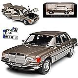 alles-meine GmbH Mercedes-Benz S-Klasse W116 450 SEL 6.9 1976 Anthrazit Grau Metallic 1972-1980 1/18 Norev Modell Auto mit individiuellem Wunschkennzeichen