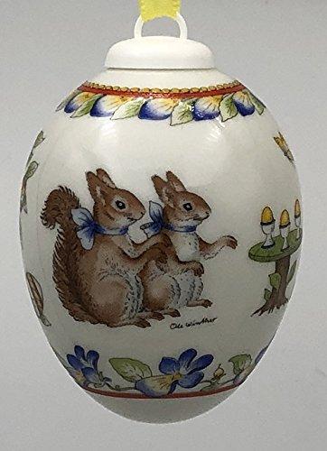 Hutschenreuther Das Ei 2001 ohne Originalverpackung - Jahresei - Osterei - aus Porzellan -