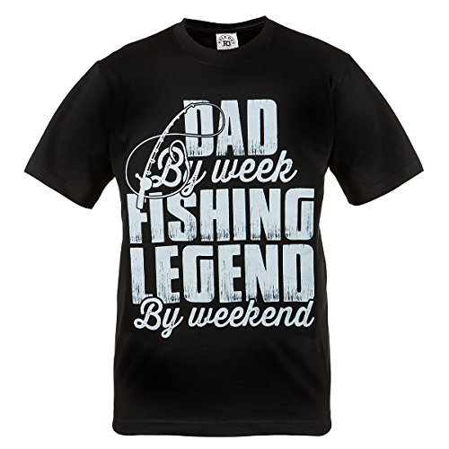 by. Fishing. Dad By Week. Fishing Legend By Weekend. Hobby. Angeln. Fischer. Casual. Dad. Grandad. Funny. Fisherman (Größe Medium) (Thai Fisherman Shirt)
