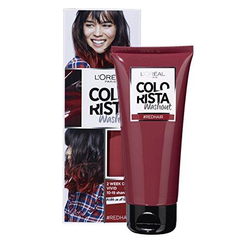 Colorista Washout 2 Semaines Couleur Temporaire pour Cheveux Rouge