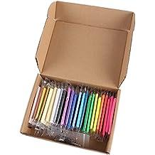 CLE DE TOUS@ Juego de 24 colores Arcilla polimérica + herramientas de modelado + accesorios DIY Manualidades