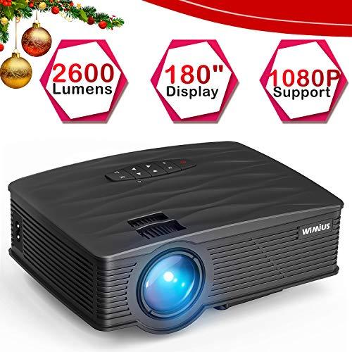 Vidéoprojecteur,WiMiUS Mini Vidéo Projecteur Portable LCD 2600...