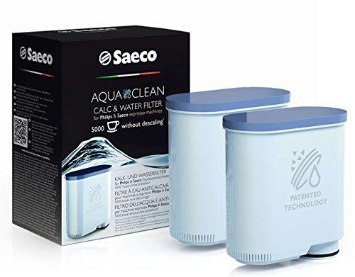 Clean Kalk und Wasserfilter (für Saeco und Philips Kaffeevollautomaten, doppelpack) ()