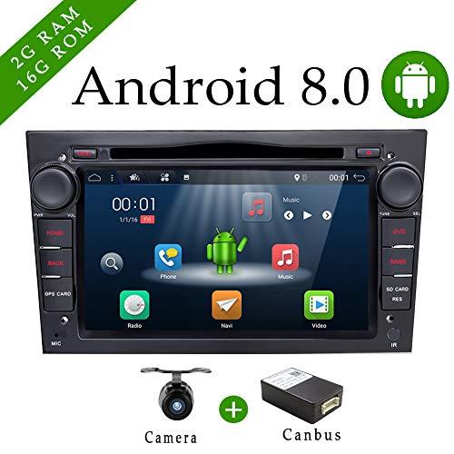 Android 6.0Quad Core GPS coche DVD Play 7pulgadas GPS coche reproductor de DVD para Opel Astra Vectra Zafira Antara Corsa Radio Navegación estéreo Audio y vídeo Canbus y negro libre cámara de color