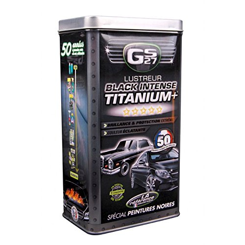 GS27 CL160250 Coffret Lustreur Titanium Black Intense