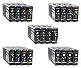 20 kompatible YouPrint Patronen für Epson Workforce Pro WF4630DWF WF4640DTWF WF5110DW WF5190DW WF5620DWF WF5690DWF