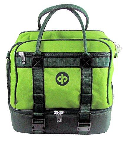 Drakes Pride mittelgroße Bowling-Sporttasche grün - lime