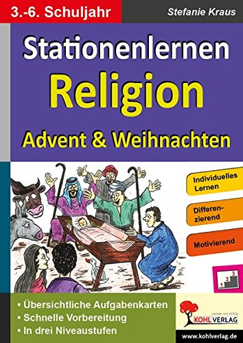 Kohls Stationenlernen Religion: Advent & Weihnachten