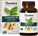 Pure Turmeric with 95% Curcumin - For Joint Pain Relief and Arthritis Support - Non-GMO Verified - by Himalaya (Since 1930) (60 Vegan Capsules)