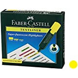 Faber-Castell Textliner - Pack of 10 (Yellow)