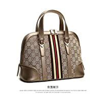 f1cb8fc2623a Vintage Printing Top Handle Bag For Women European Style Shoulder Bag  Canvas Shell Crossbody Bag