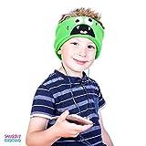 Snuggly Rascals SR1Mon. Comfortable and Adjustable Headband Headphones For Kids–Green