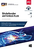 #9: BitDefender Antivirus Plus Latest Version (Windows) - 10 User, 1 Year (Email Delivery in 2 hours - No CD)